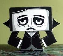 Papercraft Poe