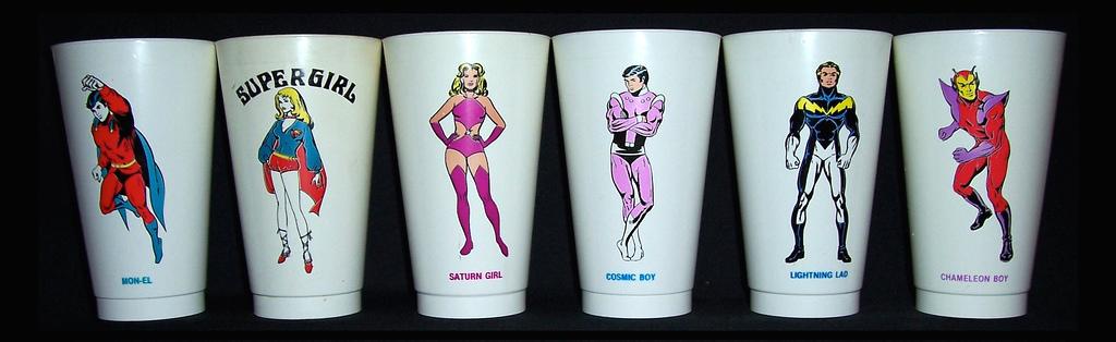 slurpee cups superhero 1907's